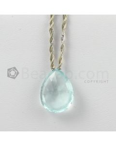 21 mm - Light Blue Aquamarine Drops - 13.85 carats (AqDr1046)