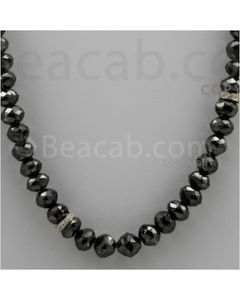 Black Diamond Faceted Beads (BDIA1006)