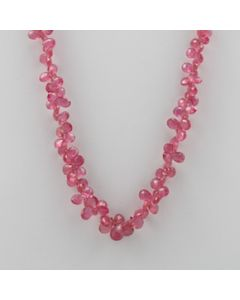 Ruby Drop - 1 Line - 132.50 carats - 19 inches - (CSNKL1025)