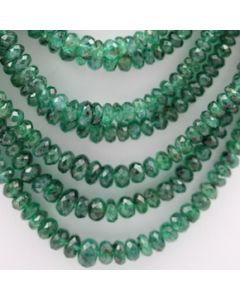 Emerald Faceted - 10 Lines - 392.95 carats - 20 to 24 inches - (EmFB1012)
