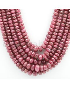 Ruby Faceted - 5 Lines - 515.82 carats - 18 to 21 inches - (RFB1021)