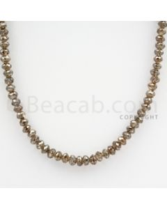 Brown Diamond Faceted Beads - 1 Line - 56.00 carats (BrnDia1015)