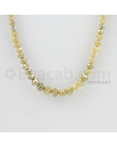 3.00 to 5.00 mm - 1 Line - Faceted Fancy Diamond Beads - 14.50 inches (FncyDia1017)
