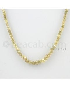 2.50 to 3.50 mm - 1 Line - Fancy Diamond Faceted Beads - 15 inches (FncyDia1032)