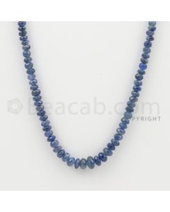 3.00 to 7.50 mm - 1 Line - Sapphire Faceted Beads - 18 inches (SFB1069)
