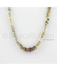 3.30 to 6.00 mm - 1 Line - Diamond Drop Beads - 20 inches (DiaDrp1011)