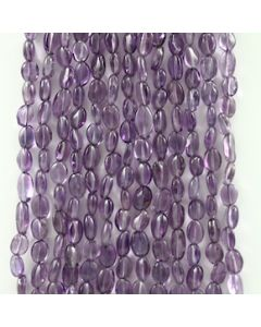 7 to 9.50 mm - 15 Lines - Amtheyst Gemstone Tumbled Beads - 777.00 carats (AmTuB1001)