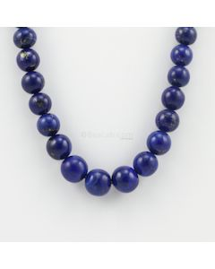 8.50 to 13.50 mm - 1 Line - Lapis Lazuli Gemstone Smooth Beads - 462.50 carats (LapisB1001)