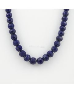 6.50 to 9.00 mm - 1 Line - Lapis Lazuli Gemstone Faceted Beads - 178.00 carats (LapisB1005)