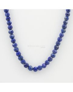 4 to 5.20 mm - 1 Line - Lapis Lazuli Gemstone Faceted Beads - 70.75 carats (LapisB1010)