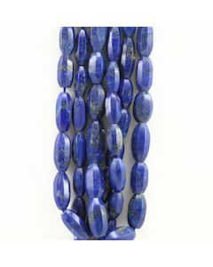 13 to 20 mm - 3 Lines - Lapis Lazuli Gemstone Faceted Tumbled Beads - 547.50 carats (LapisB1013)