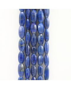 9 to 19 mm - 5 Lines - Lapis Lazuli Gemstone Faceted Tumbled Beads - 806.00 carats (LapisB1014)