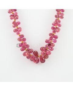 5 to 14 mm - 1 Line - Tourmaline Drop Necklace - 263.52 carats (CSNKL1095)