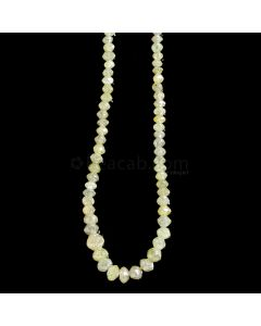 1 Line - Medium Fancy Diamond Faceted Beads - 22.44 cts. - 2 to 4.5 mm (FNCYDIA1068)