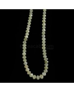 1 Line - Light Fancy Diamond Faceted Beads - 27.99 cts. - 1.7 to 4.4 mm (FNCYDIA1079)