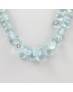 7 to 16 mm - Medium Blue Aquamarine Drops - 177.00 carats (AqDr1038)