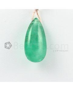 24 mm - Medium Green Emerald Drops - 21.00 carats (EDr1031)