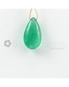 18 mm - Medium Green Emerald Drops - 8.00 carats (EDr1036)
