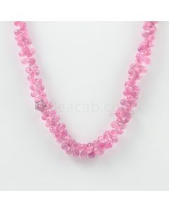 3 to 6 mm - 1 Line - Pink Sapphire Drops - 125.50 carats (PSDr1008)