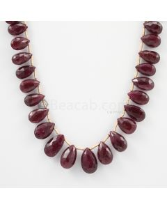 8 to 12.80 mm - 1 Line - Ruby Drops - 86.87 carats (RDr1001)