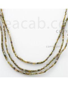 Fancy Diamond Cube Beads - 3 Lines - 70.51 carats (FncyDiaCu1007)