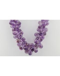 Amethyst Briolette - 1 Line - 606.25 carats - 18 inches - (CSNKL1002)