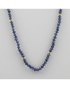 Sapphire Faceted - 1 Line - 47.00 carats - 18 inches - (CSNKL1015)