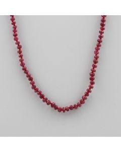 Ruby Faceted - 1 Line - 58.50 carats - 15 inches - (CSNKL1022)