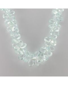 Aquamarine Drop - 1 Line - 375.00 carats - 16 inches - (CSNKL1032)