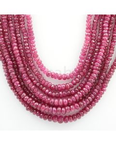 Ruby Faceted - 7 Lines - 484.00 carats - 16 to 20 inches - (RFB1022)