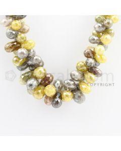 Fancy Diamond Drops - 1 Line - 433.91 carats (DiaDrp1003)