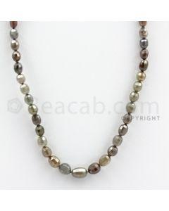 Fancy Diamond Drum Beads - 1 Line - 55.62 carats (FncyDiaDr1008)