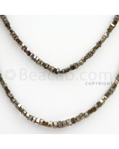 Brown Diamond Cubes - 2 Lines - 31.50 carats (BrnDia1005)