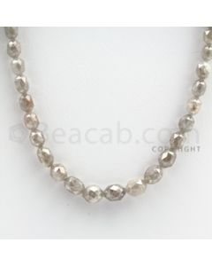 White Diamond Drums - 1 Line - 66.50 carats (WDia1015)