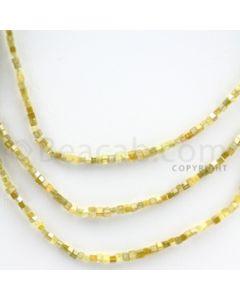Fancy Diamond Cube Beads - 3 Lines - 46.50 carats (FncyDiaCu1002)