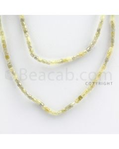 Fancy Diamond Cube Beads - 2 Lines - 40.00 carats (FncyDiaCu1017)