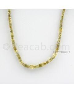 Fancy Diamond Cube Beads - 1 Line - 33.00 carats (FncyDiaCu1014)