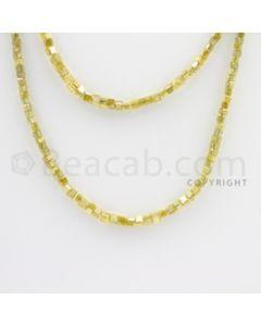 Fancy Diamond Cube Beads - 2 Lines - 39.50 carats (FncyDiaCu1015)