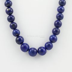8.50 to 13.50 mm - 1 Line - Lapis Lazuli Gemstone Smooth Beads - 462.50 carats (LapisB1001)