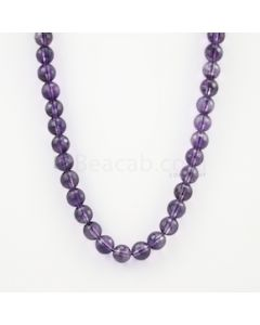 10.40 mm - Dark Purple Amethyst Faceted Beads - 277.00 carats (AmFB1009)