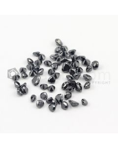 3.80 x 4 mm to 5.20 x 5.50 mm - Black Mix Shaped Diamond Cut Stones Diamond  - 19.11 carats (FDCS1026)