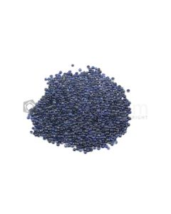 1.30 mm - Medium Blue Round Sapphire Cabochons - 873 pieces - 34.29 carats (SaCab1001)