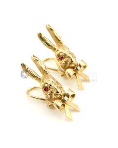 18kt Yellow Gold Tiffany & Co. Earrings - 15.40 grams - EST1057