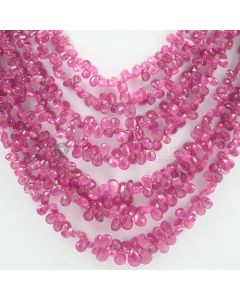 4 to 8 mm - 7 Lines - Pink Sapphire Drops - 579.85 carats (PSDr1001)
