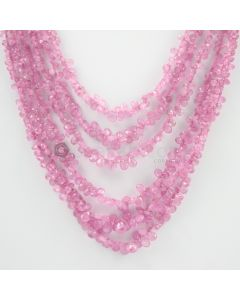 4 to 9 mm - 6 Lines - Pink Sapphire Drops - 463.95 carats (PSDr1002)