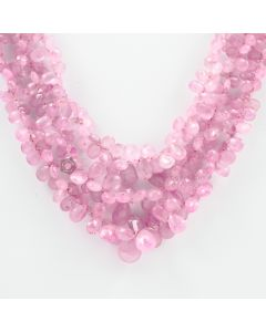 4 to 11 mm - 3 Lines - Pink Sapphire Drops - 310.00 carats (PSDr1004)