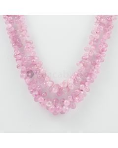 3.50 to 7.50 mm - 2 Lines - Pink Sapphire Drops - 195.95 carats (PSDr1005)