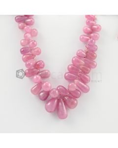 6.50 to 13 mm - 1 Line - Ruby Drops - 88.00 carats (RDr1025)