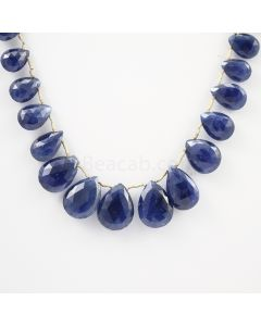 8.50 to 17 mm - 1 Line - Sapphire Drops - 131.47 carats (SDr1010)