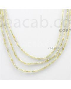 Fancy Diamond Cube Beads - 3 Lines - 65.50 carats (FncyDiaCu1009)